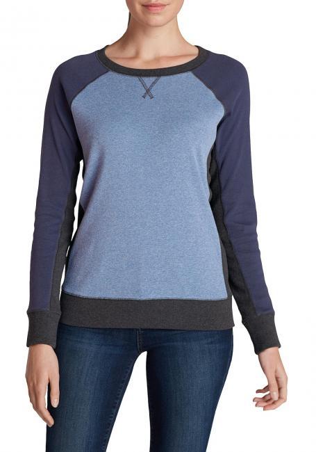 Sweatshirt im Farbmix