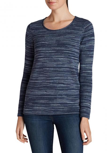 Pullover im Melange-Stil