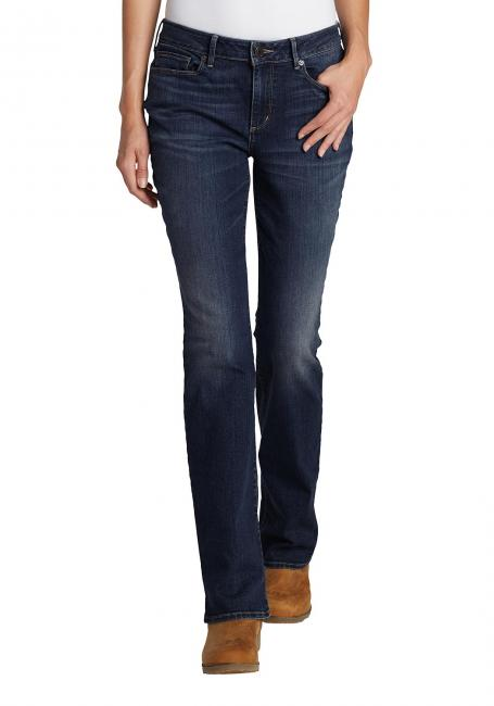 Straight Leg Jeans - Slightly Curvy