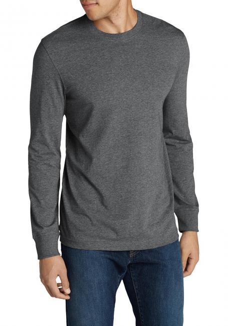 Legend Wash Langarm - T-Shirt Mit Rundhalsausschnitt- Slim