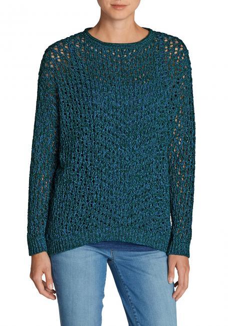Pullover mit Lochstrick