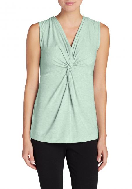 Girl on the Go Tanktop mit gedrehter Front - uni
