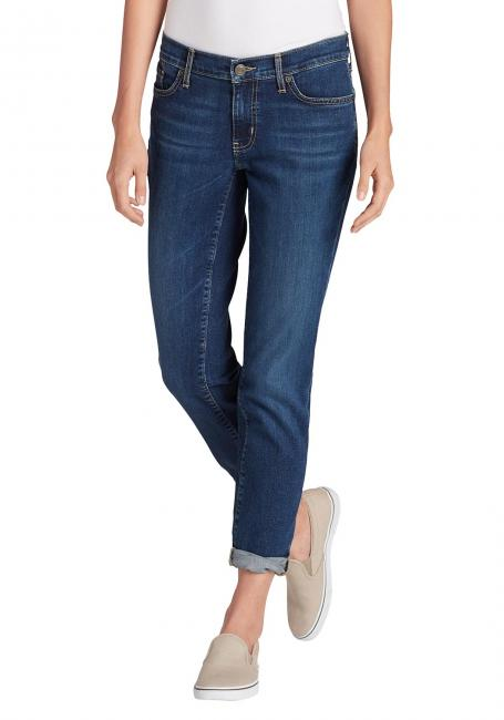Boyfriend Jeans - Slim Leg - Washed Navy