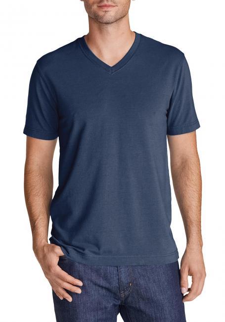 Lookout T-Shirt - Kurzarm mit V-Ausschnitt