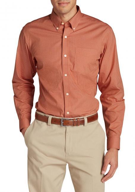 Oxfordhemden - Classic Fit, Langarm-gemustert