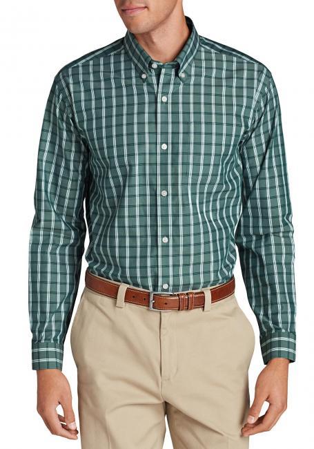 Oxfordhemd - Classic Fit, Langarm - Gemustert