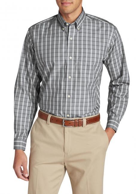 Oxfordhemd - Relaxed Fit, Langarm - Gemustert