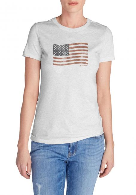 T-Shirt bedruckt Klassische Flagge