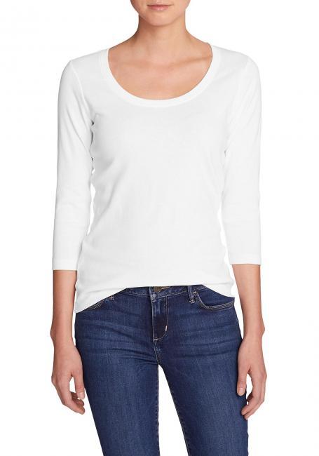 Favorite Shirt - 3/4-Arm mit Rundhalsausschnitt - uni