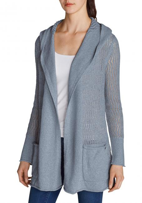 Beachside Cardigan mit Kapuze