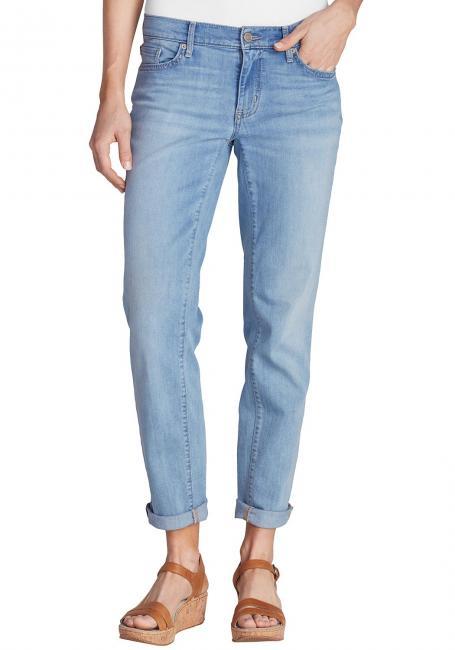 Elysian Boyfriend Jeans - Faded Indigo