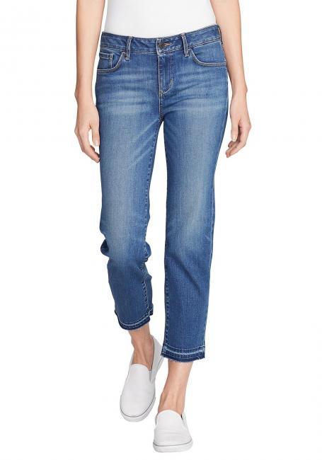 Elysian Straight Leg 7/8-Jeans