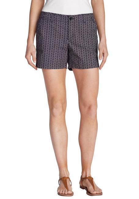 Popeline Shorts - bedruckt