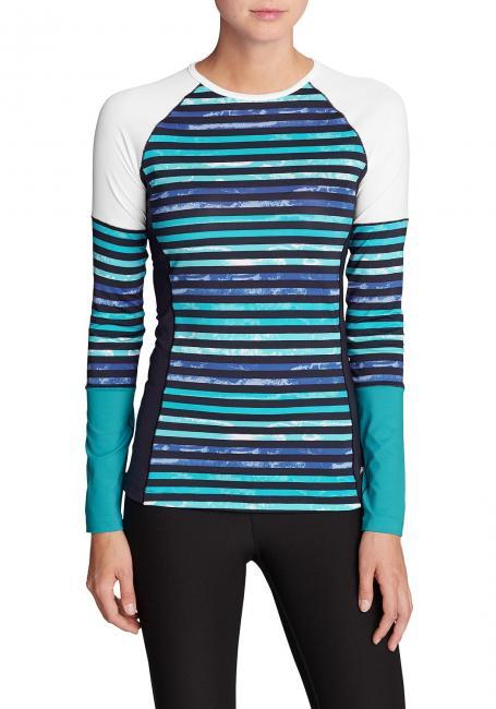 Tidal Schwimm-Shirt - gestreift