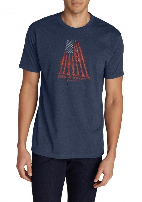 T-Shirt Baumflagge