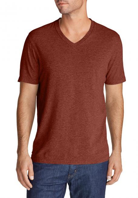 Lookout T-Shirt kurzärmlig mit V-Ausschnitt