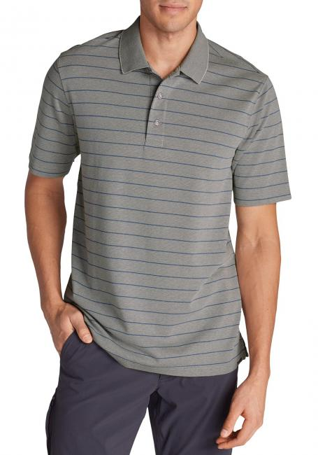 Voyager II Performance Polo - gestreift