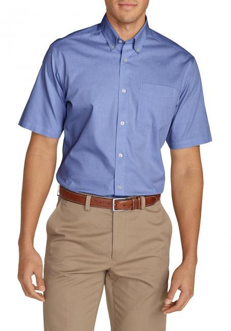 Oxfordhemd - Classic Fit - Kurzarm - uni