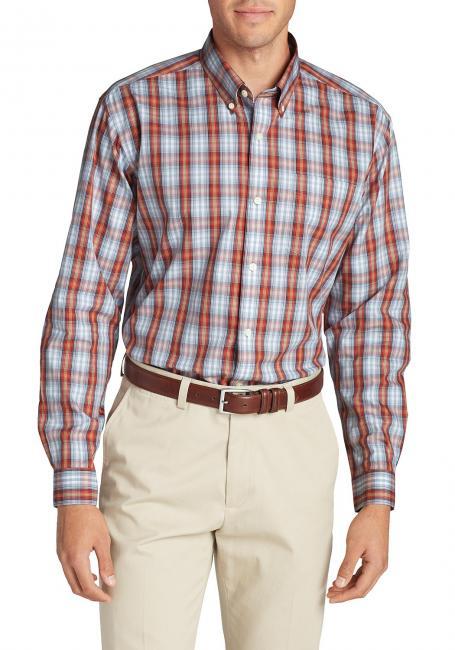 Oxfordhemden - Relaxed Fit, Langarm-gemustert