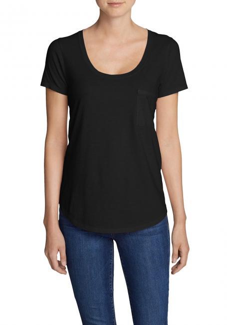 Gypsum T-Shirt mit Tasche - Uni