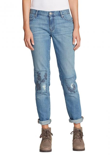 Embroidered Jeans - Slim