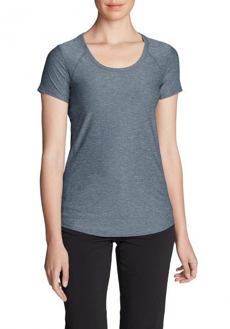 Infinity Shirt mit Rundhalsausschnitt - Kurzarm