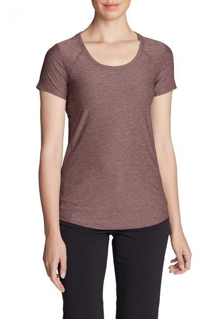 Shirt mit Rundhalsausschnitt - kurzarm
