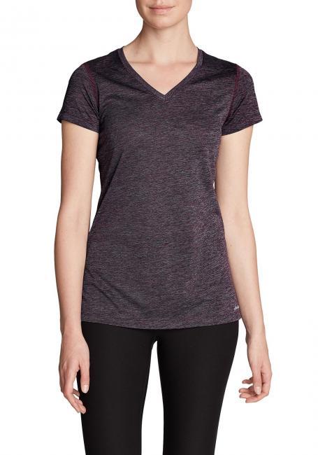 Resolution T-Shirt mit V-Ausschnitt