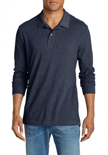 Field Poloshirt - Langarm