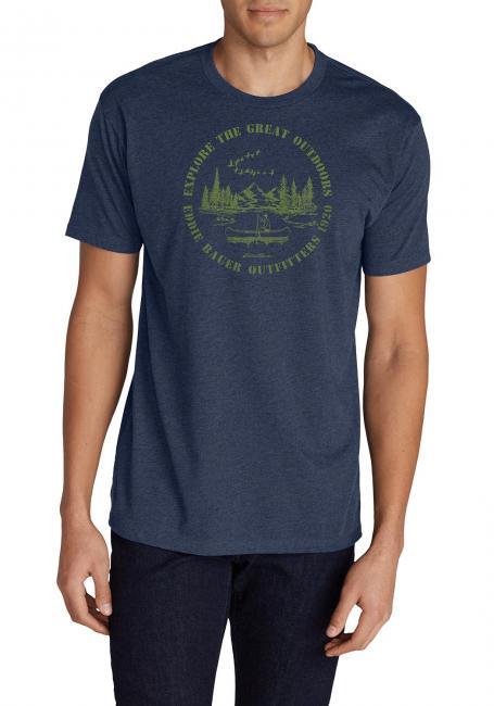 T-Shirt mit Motiv - Kayak
