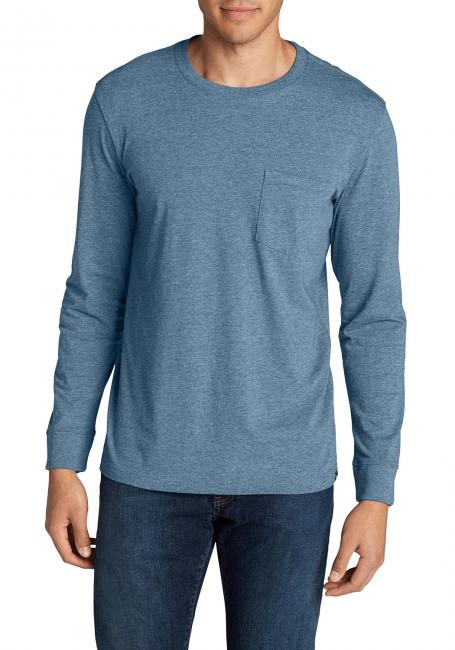 Legend Wash Langarm - T-Shirt Mit Tasche