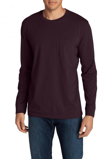 Legend Wash T-Shirt - Langarm mit Tasche