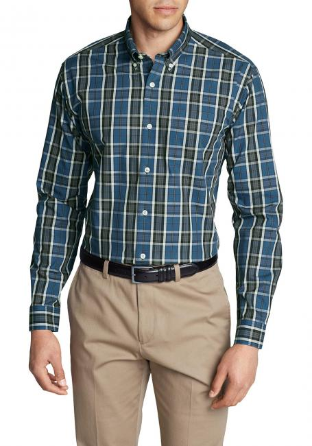 Knitterarmes Pinpoint-Oxfordhemd - Slim Fit