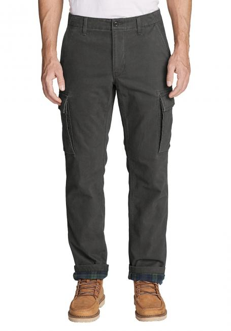 Legend Wash Chinohose mit Flanellfutter
