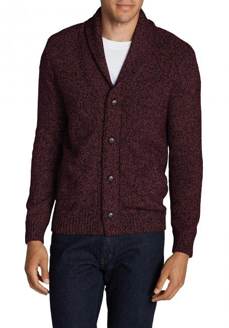 Interlodge Cardigan mit Schalkragen