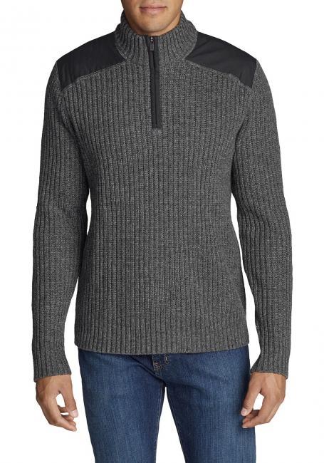 Field Stehkragen-Pullover