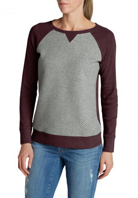 Legend Wash Sweatshirt - Rundhalsausschnitt - Wattiert