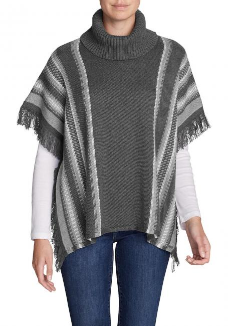 Pinecone Poncho - Gestreift