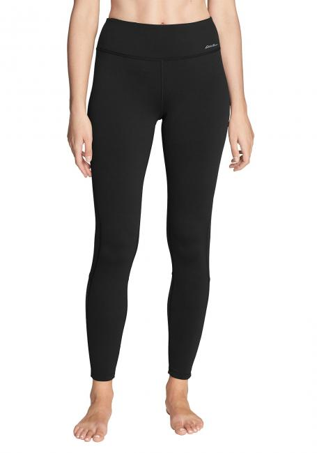 Crossover Fleece-Leggings - Colorblock