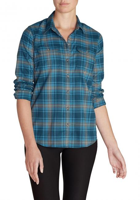 Expedition Flex Flanellbluse
