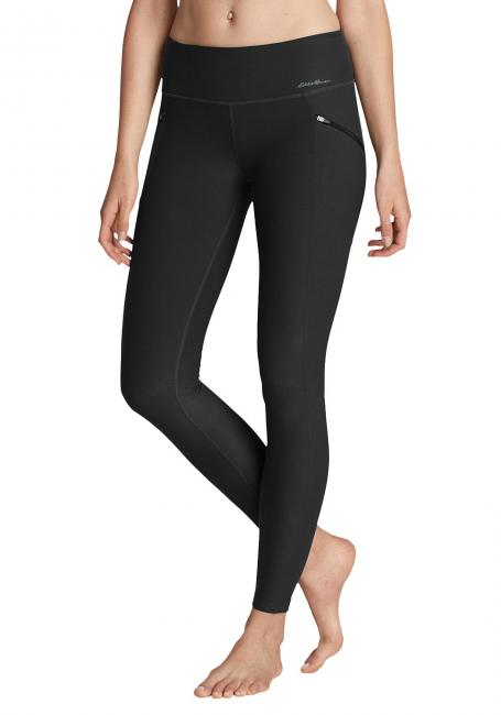 Crossover Trail Tight Leggings - Fleecegefüttert