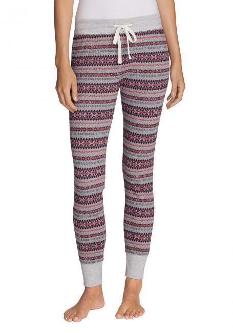 Stine´s Favorite Waffel-Pyjama Leggings - Kariert