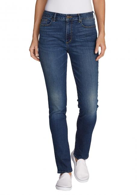Stayshape Jeans - Slim Straight Leg - High Rise - Slightly Curvy