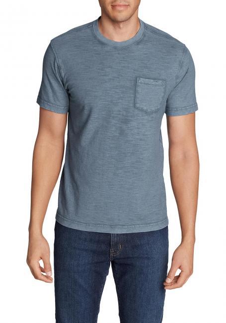Legend Wash Slub-Shirt - Kurzarm mit Tasche