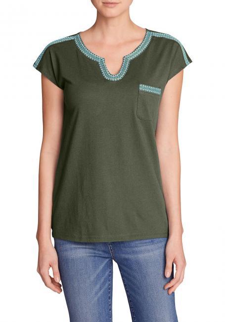 Rosario Beach T-Shirt mit Tasche