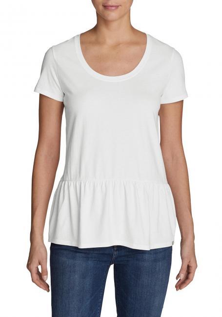 Gypsum T-Shirt Peplum - Uni
