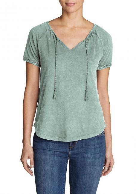 Mountain Meadow Shirt mit Kordeln - uni