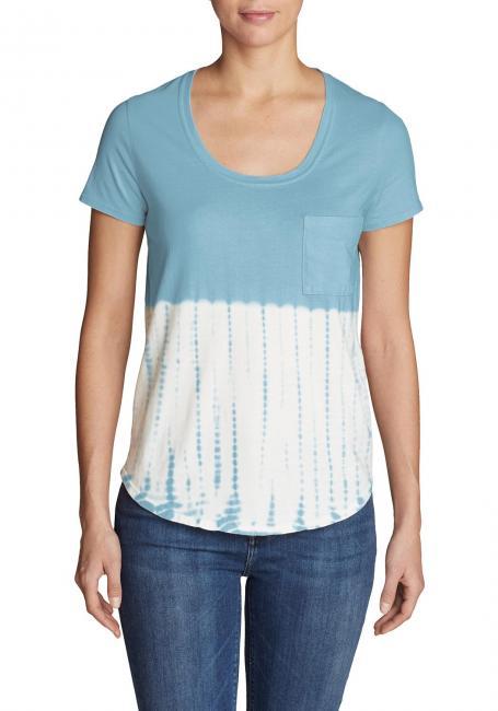 Gypsum T-Shirt mit Tasche - Tie-Dye