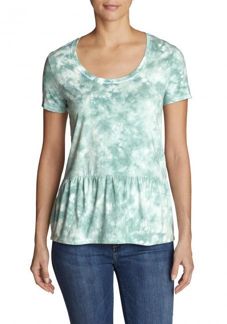Gypsum T-Shirt Peplum - Tie-Dye
