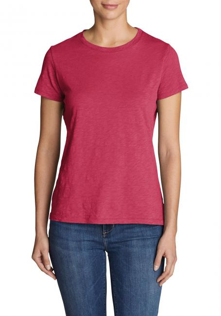 Essential Shirt - Kurzarm mit engem Rundhalsausschnitt